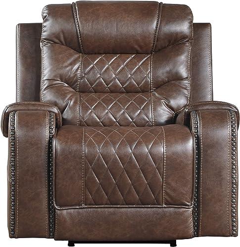 Lexicon Noura Power Reclining Chair, Brown