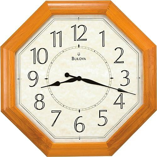 Bulova Majestic Large Wall Clock – 32 inch Diameter