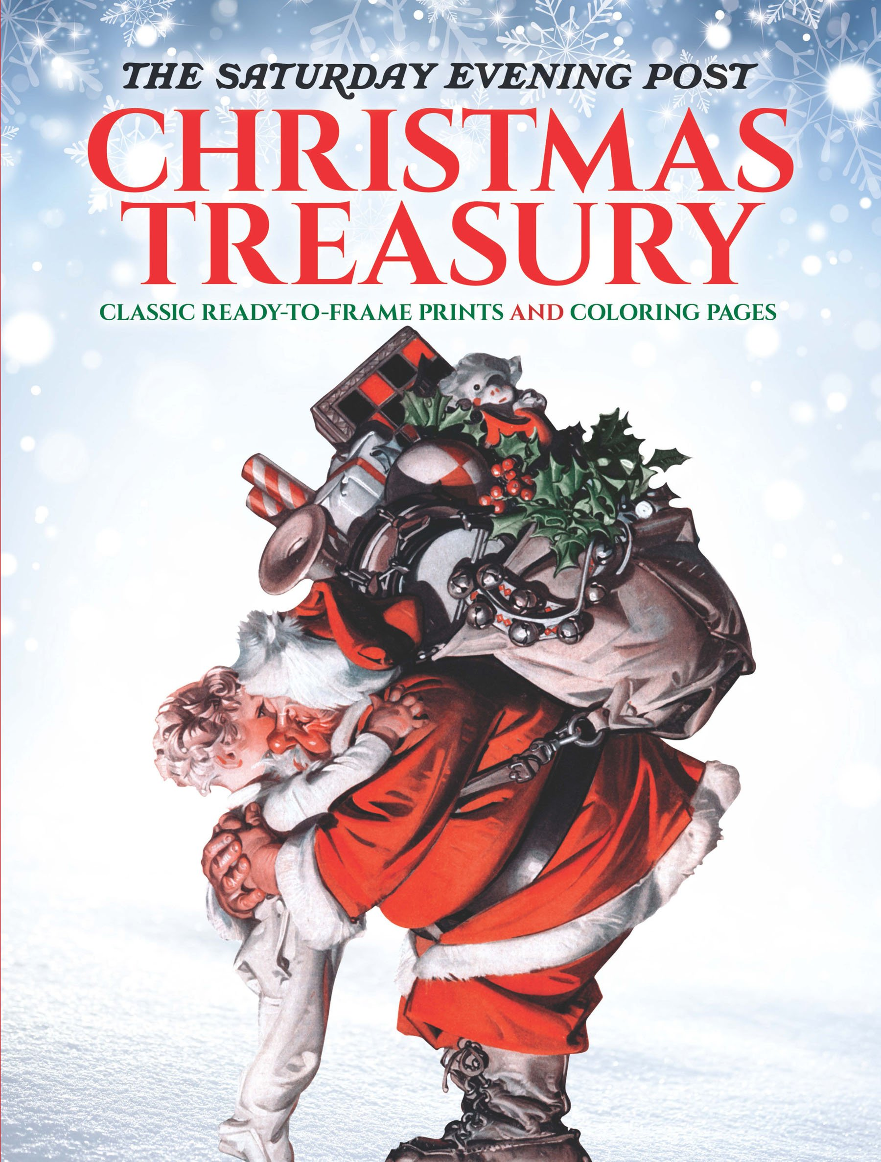 Amazon The Saturday Evening Post Christmas Treasury Classic Ready To Frame Prints And Coloring Pages Adult 9780486814360 Marty Noble