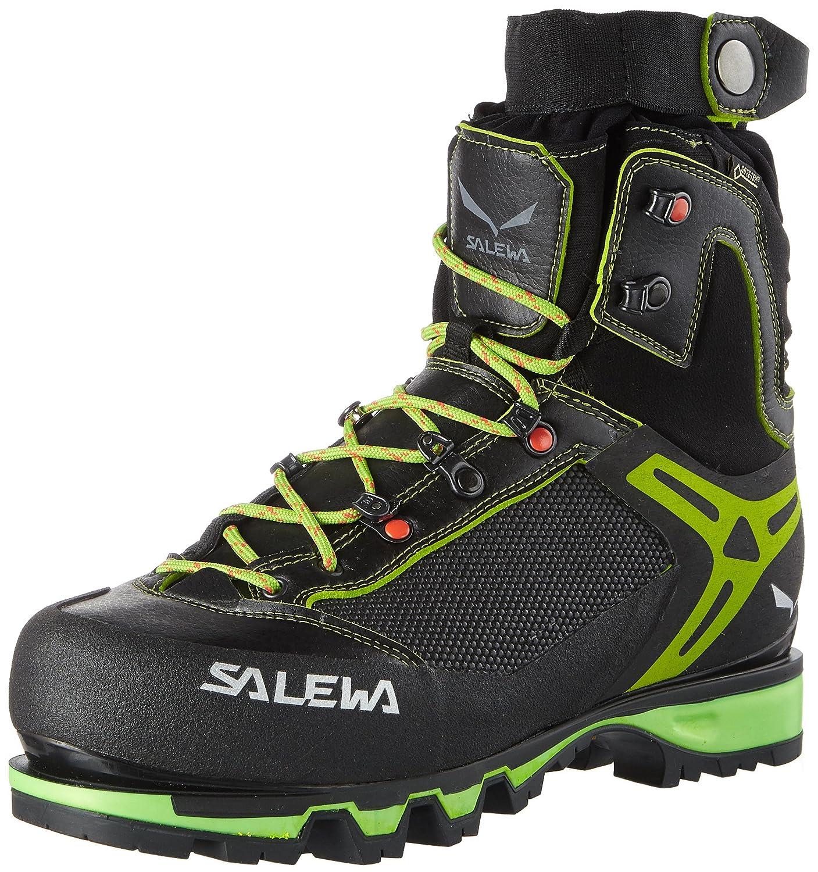 Salewa Ms Vultur Vertical GTX, Botas de Montaña para Hombre 43 EU|Multicolor (Black/Cactus)