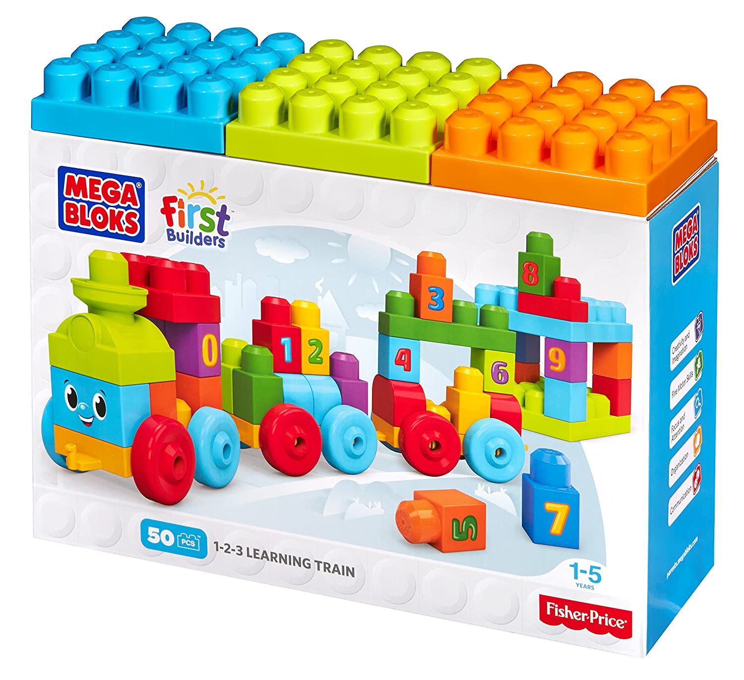 Figures Playset Organizer Building Bricks Case Accessories For Kids by LMB Life Made Better LMB162 Toy Storage Carrying Box