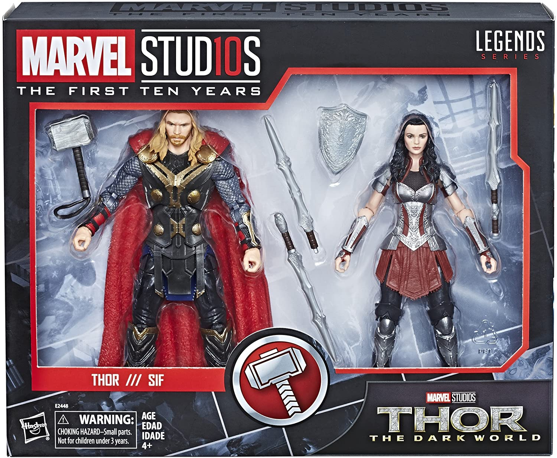 Marvel Legends 6 MCU Studios the First Ten Years Sif MCU Thor the Dark World