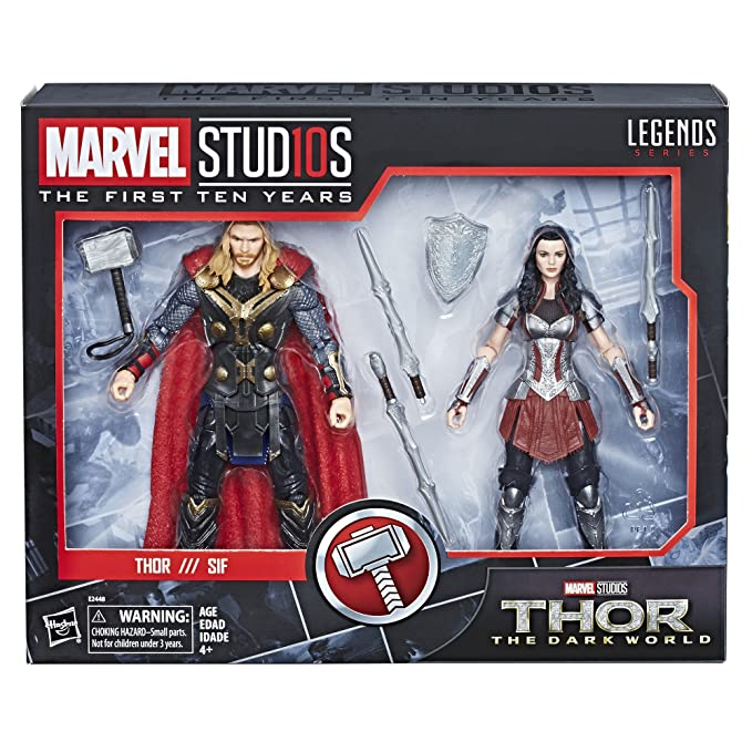 Marvel Legends 6 MCU Studios the First Ten Years Sif MCU Thor the Dark World