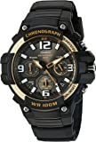 Casio Men's 'Heavy Duty Chronograph' Quartz Stainless Steel and Resin Casual Watch, (Model: MCW-100H-9A2VCF)