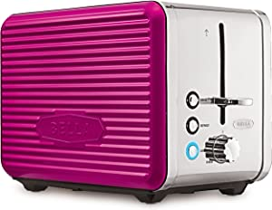 Bella Linea Collection 2-Slice Toaster, Pink