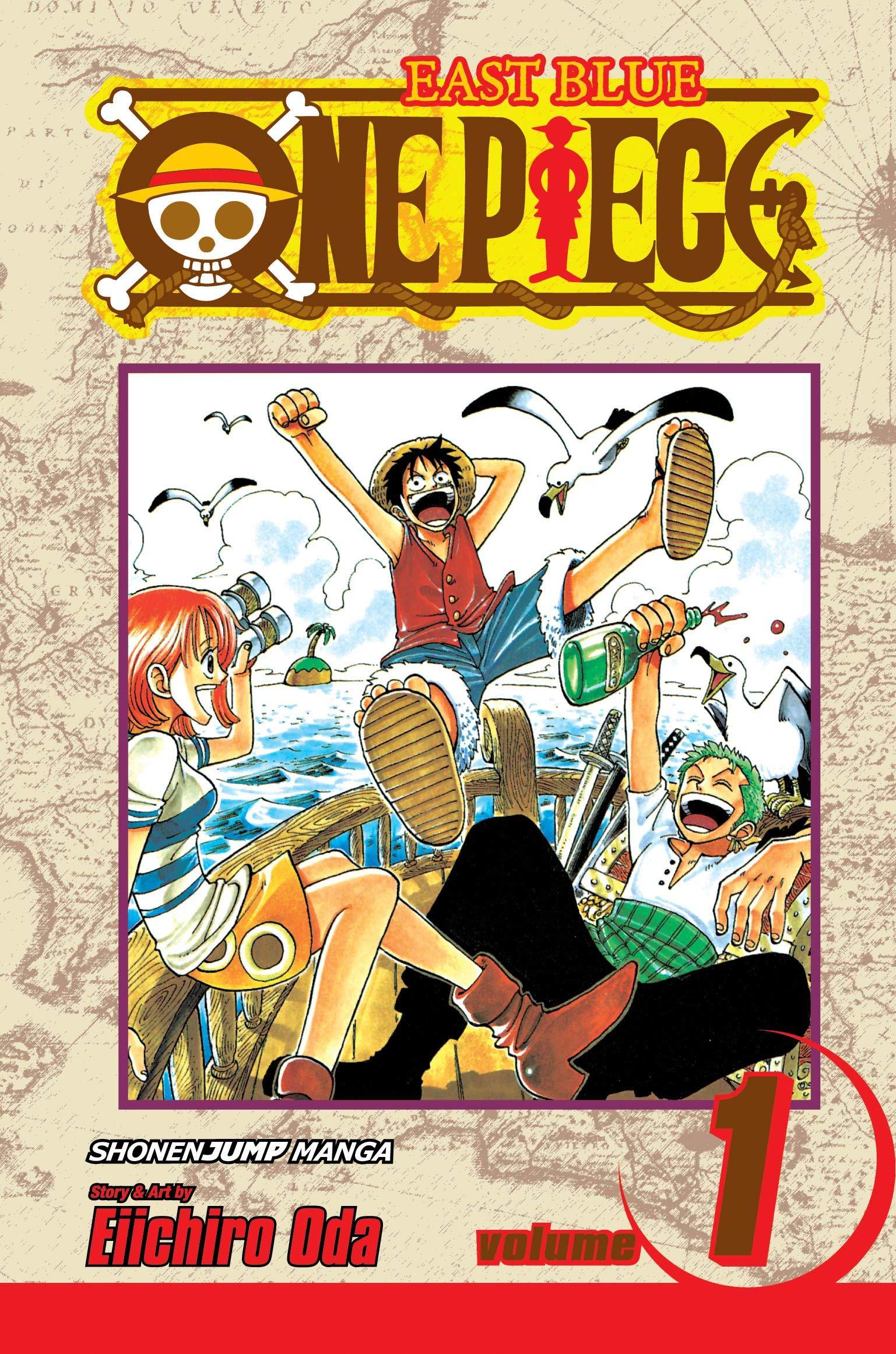 Amazon.com: One Piece, Vol. 1: Romance Dawn (0782009136637): Oda, Eiichiro,  Oda, Eiichiro: Books