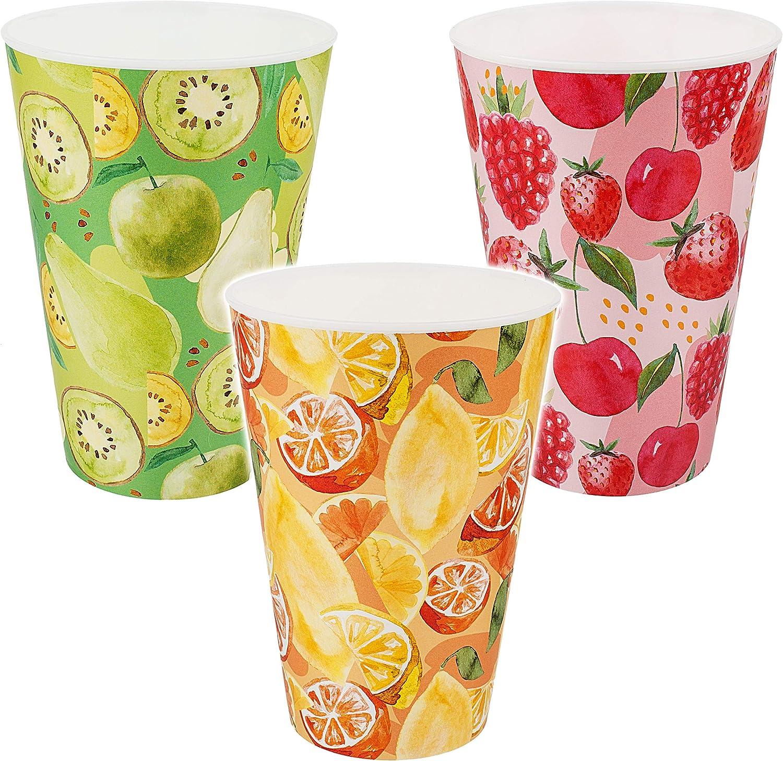 400 ml auch als Zahnputzbecher // Malbecher // Eisbecher // Joghurtbeche.. inkl BPA frei Avocado Erdbeere alles-meine.de GmbH gro/ßer Zitrone Name Trinkbecher // Becher