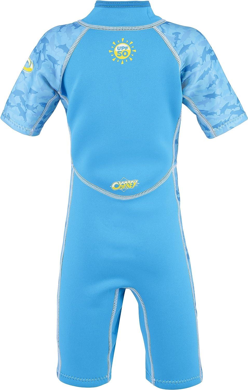 /Azul Osprey Boy de tibur/ón Verano Traje de/