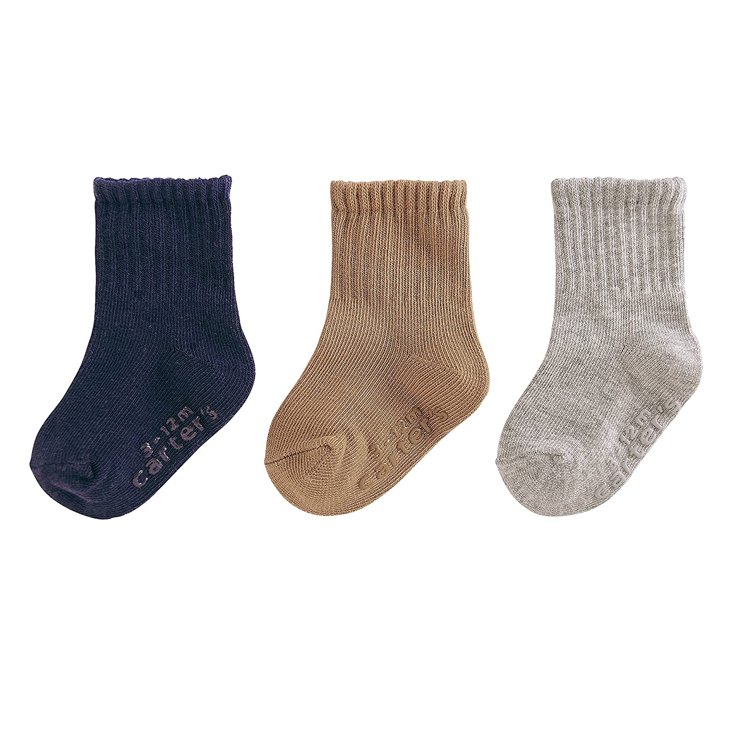 Pack of 3 Carters Boys Newborn Mix Patterns Socks