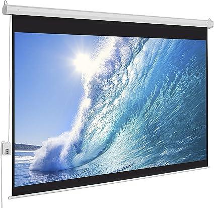 Mejor opción Products 100 Diagonal 16: 9 eléctrico proyector ...