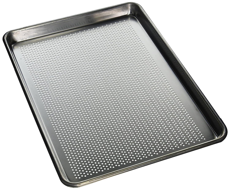 "MIU France E-95126-P Perforated Baking Pan, 13 x 18"", Silver"