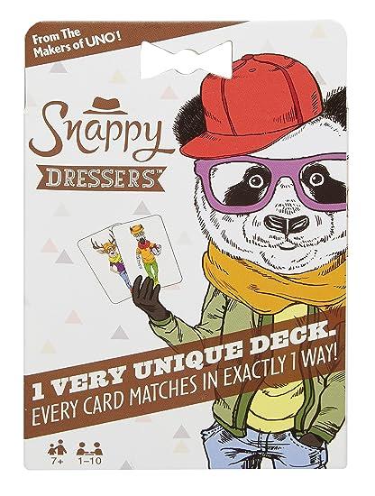 Juegos Mattel - Juego de Cartas Snappy Dressers