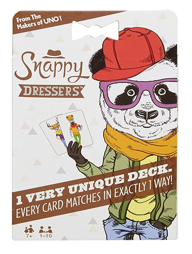 Mattel Games Snappy Dressers Card Game