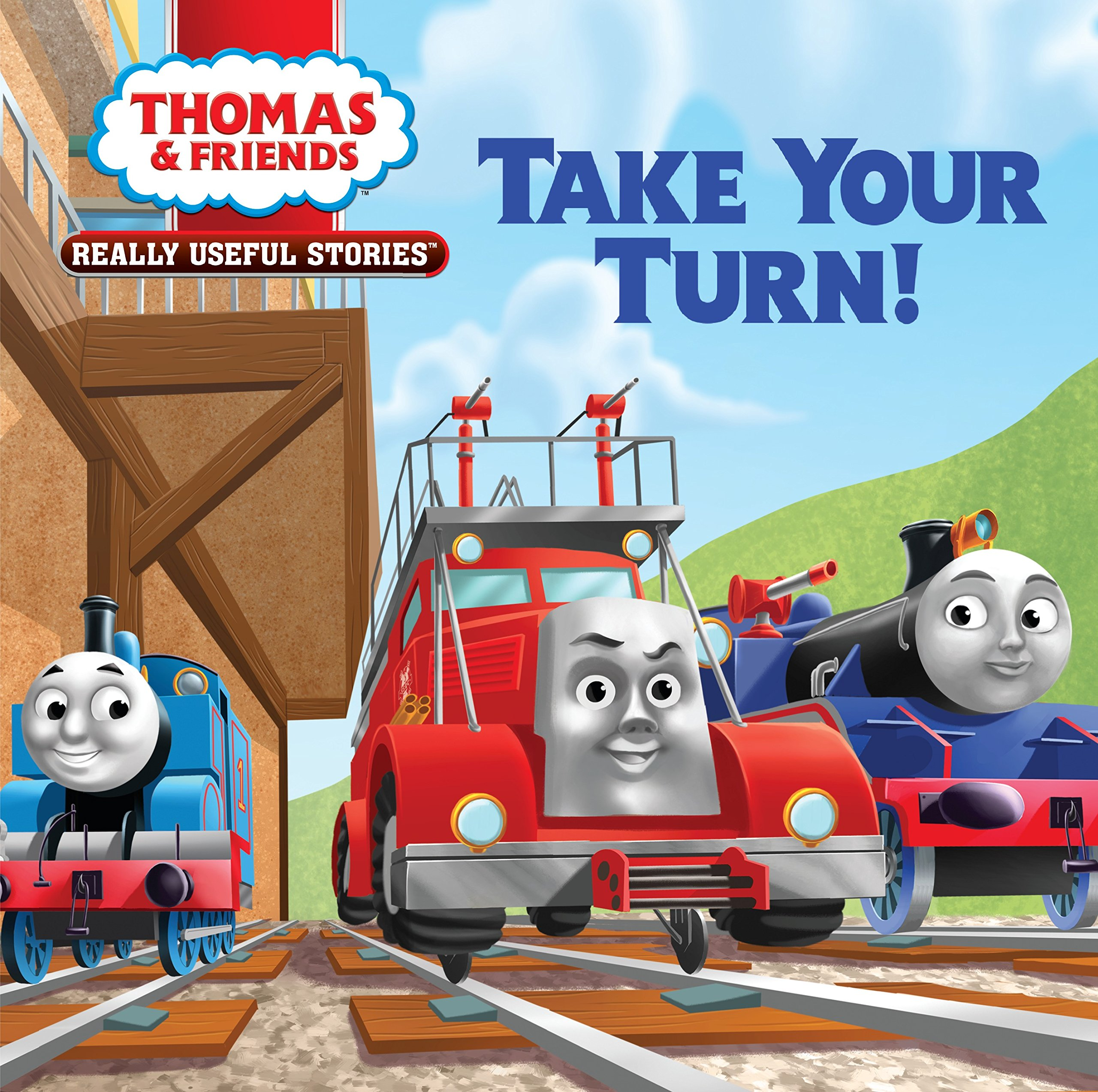Thomas & Friends Really Useful Stories: Take Your Turn! (Thomas & Friends) (Thomas & Friends Really Useful Stories: Little Golden Books)