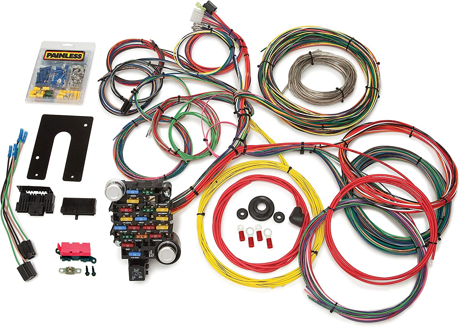 painless wiring harness and chassis amazon com painless performance 10203 classic plus customizable  amazon com painless performance 10203