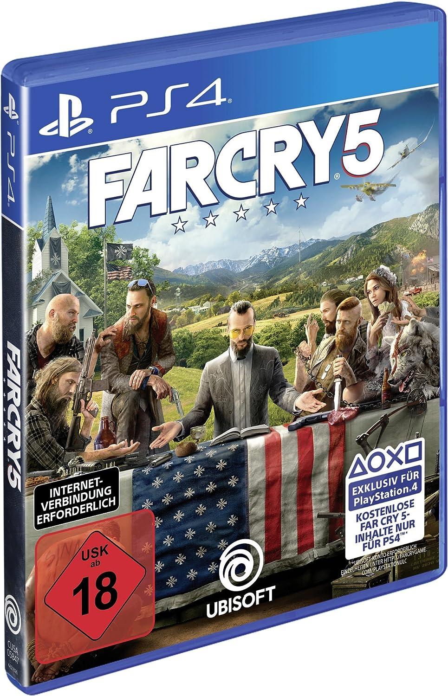 Far Cry 5 - Standard Edition - PlayStation 4 [Importación alemana]: Amazon.es: Videojuegos
