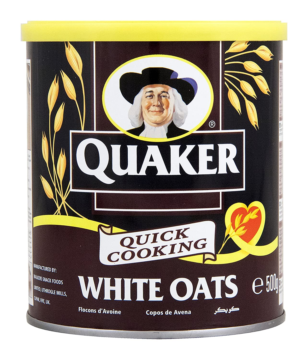 Quaker Quick Cooking White Oats, 500 g