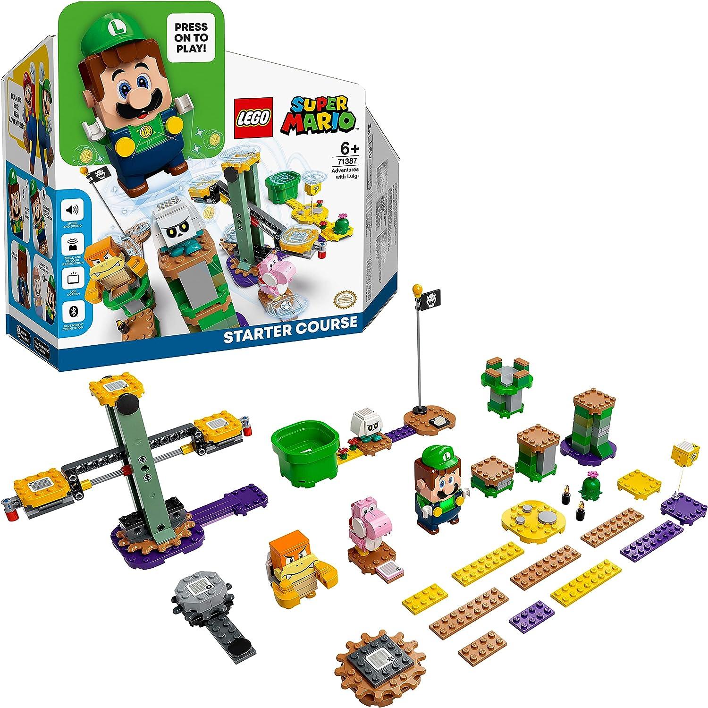 レゴ(LEGO) スーパーマリオ ルイージTM と ぼうけんのはじまり ~ スターターセット 71387