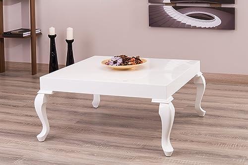 La Viola Decor New Modern Contemporary Glossy Lacquer Lukens Coffee Table 7192
