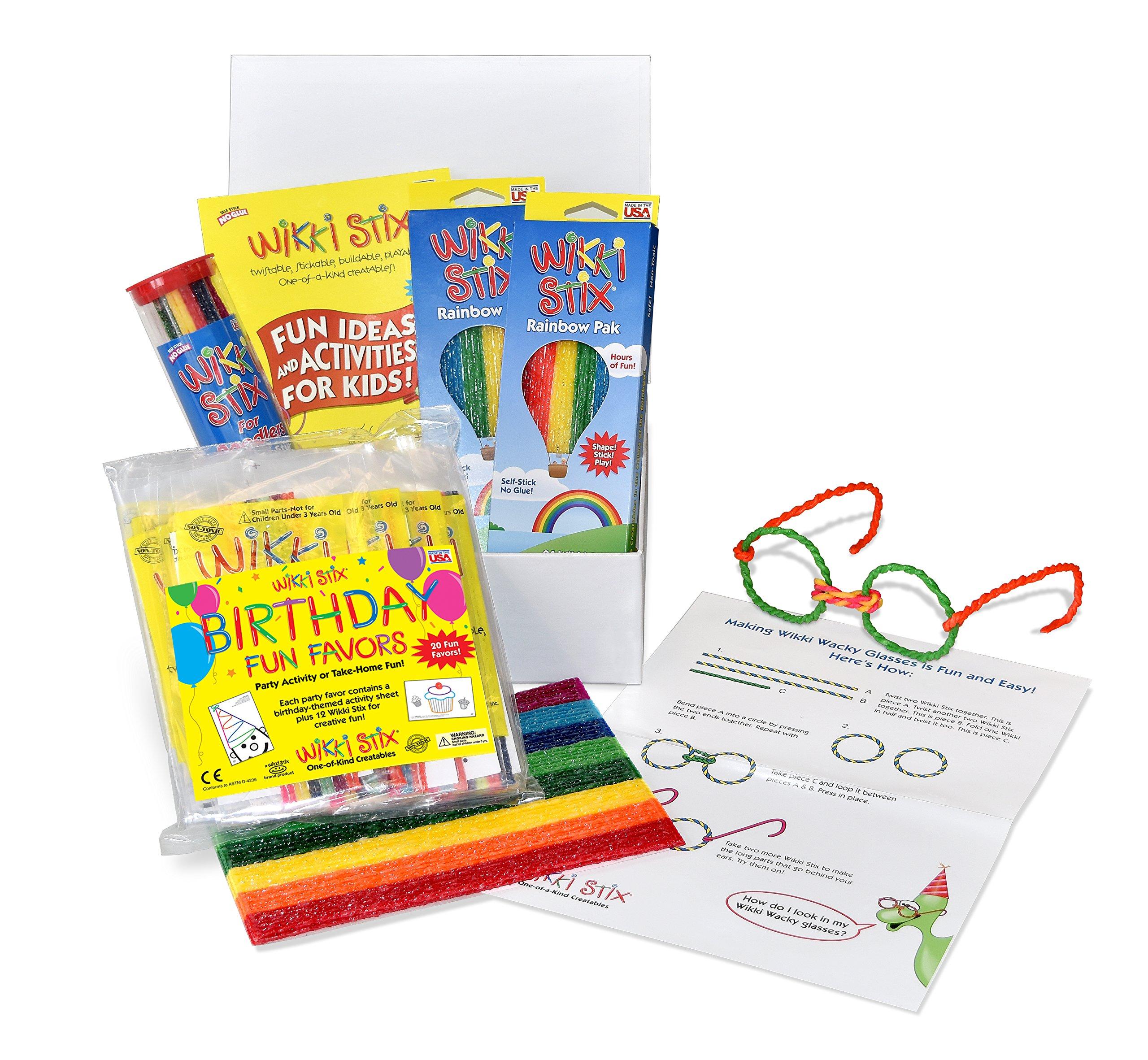 WikkiStix Birthday Box