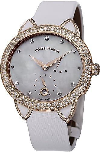 Ulysse Nardin Reloj de Mujer automático 36mm Correa de satén 3106-125BC/991: Ulysse Nardin: Amazon.es: Relojes