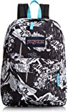 JanSport SuperBreak Backpack (BLACK SUPERHERO)