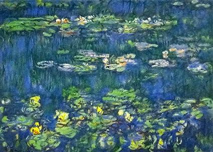 Amazon絵画 モネ睡蓮 I 3742cm Mone 5植物花 オンライン通販