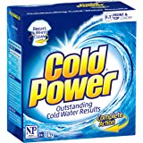 Cold Power Regular Complete Action, Powder Laundry Detergent, Suitable for Front and Top Loaders