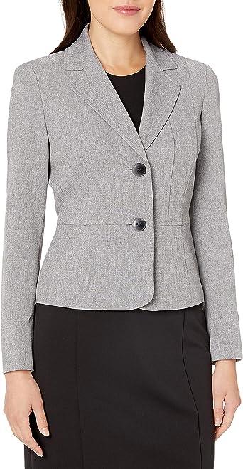 Kasper Women's Petite Size Two Button Jacket at Amazon Women's Clothing  store
