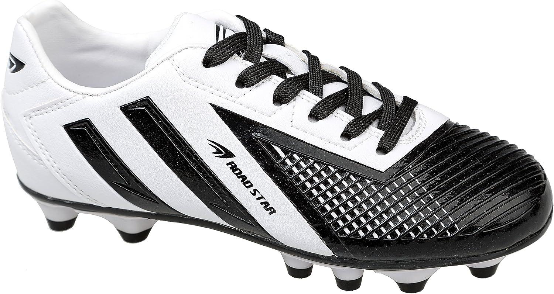 gibra Chaussures de Football pour Homme Blanc//Noir Taille 41 46