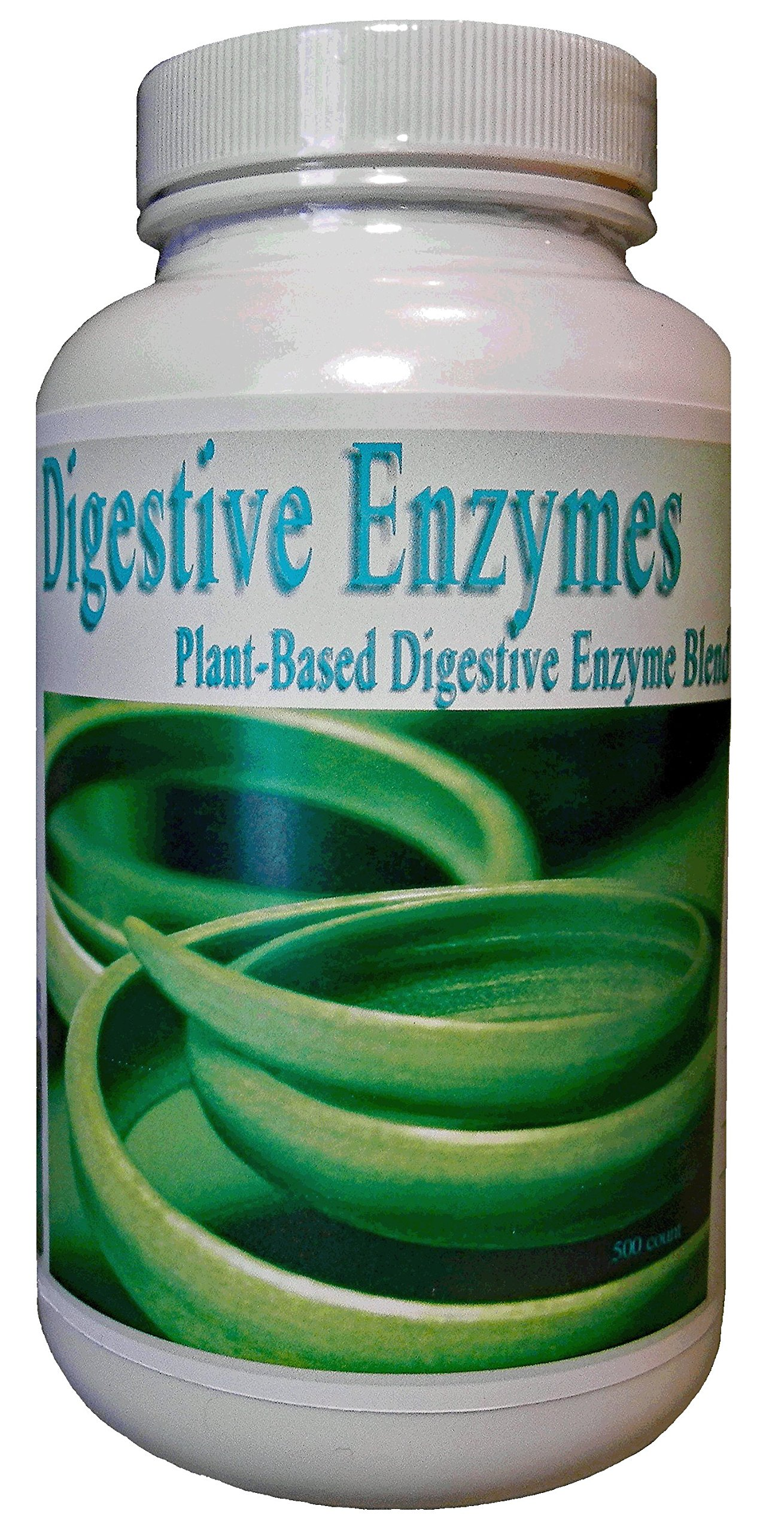 Frequency Foods Digestive Enzymes Cap 500 ct