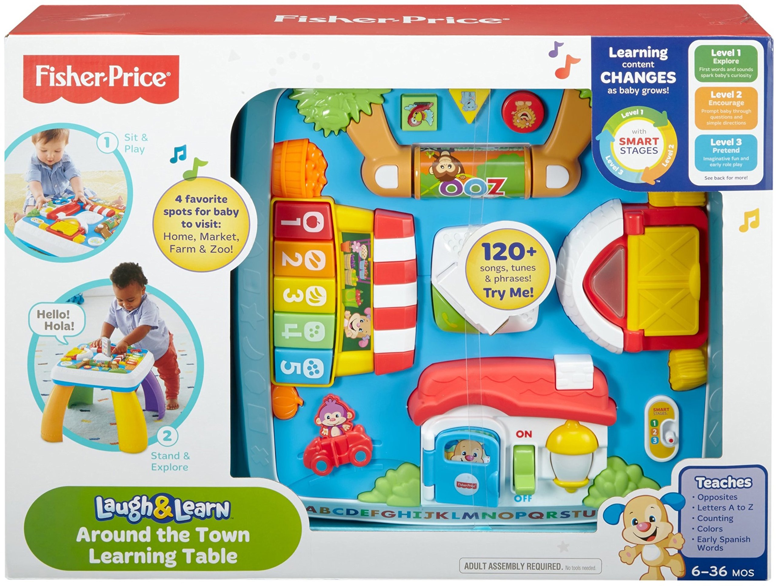Fisher-Price Laugh & Learn Around The Town Learning Table by Fisher-Price (Image #5)
