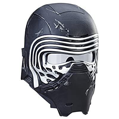 Star Wars: The Last Jedi Kylo Ren Electronic Voice Changer Mask: Toys & Games