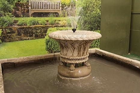Vasca Giardino Pietra : Pietra ornato jardineer vasca acqua fontana feature amazon