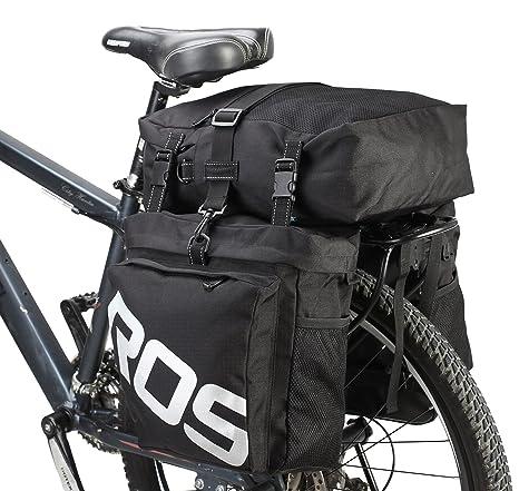 DCCN Alforja para Bicicleta Trasera Bicicleta Trasera para ...