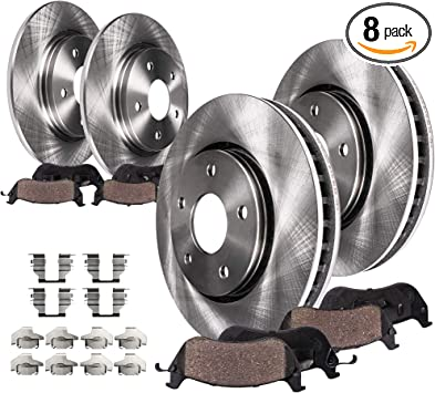 2000 2001 2002 2003 Buick LeSabre OE Replacement Rotors w//Ceramic Pads R
