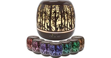 Royal Living 500mL Whispering Woods Essential Oil Diffuser only $34.96