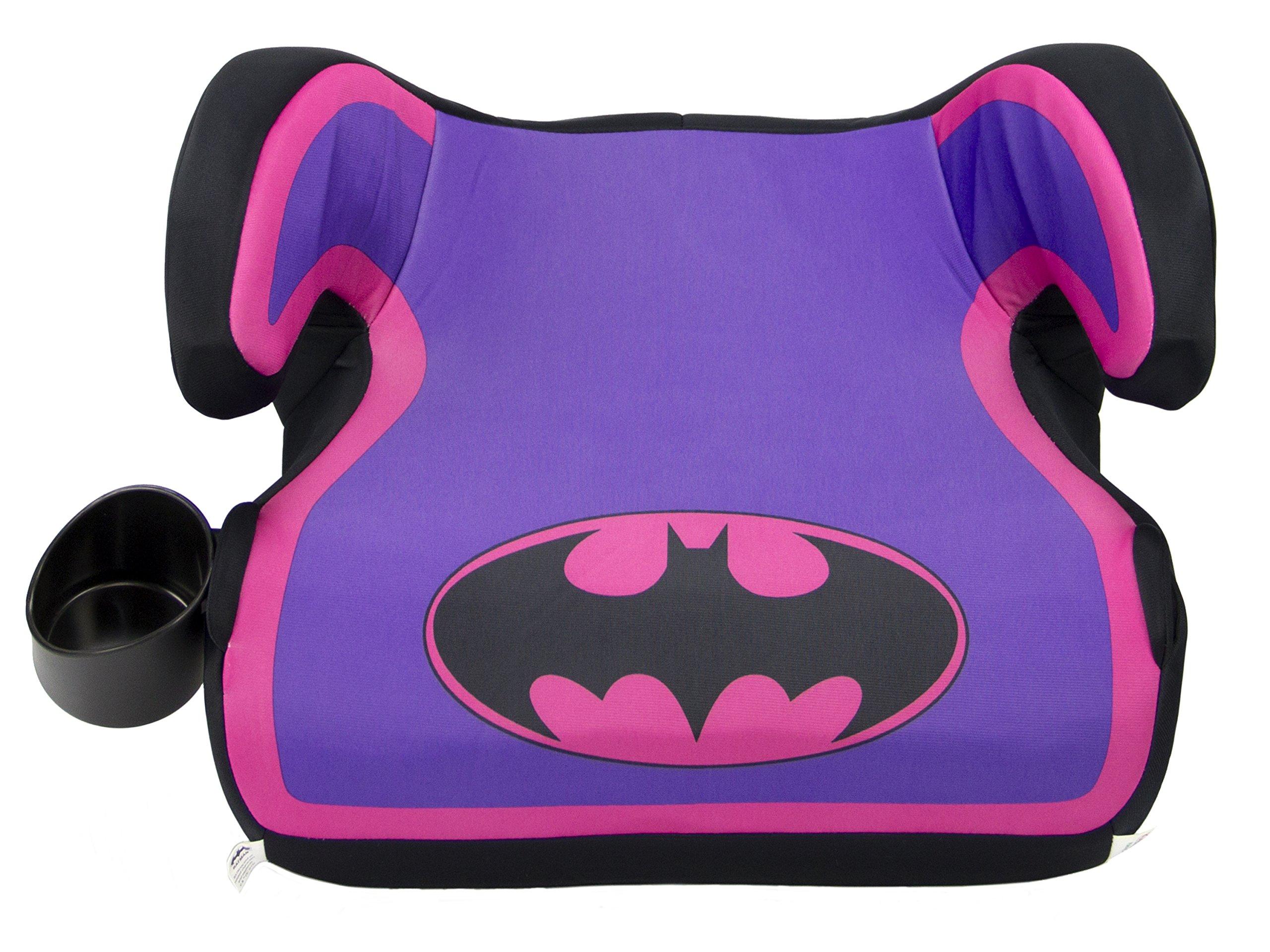 KidsEmbrace Batgirl Booster Car Seat Warner Bros Youth Backless Purple 4801BTG