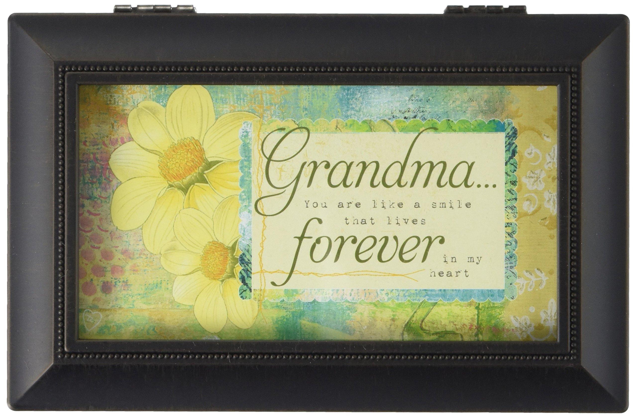 Carson Home Accents Grandma/Forever Music Box