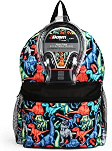 Dinos 43cm Backpack with Headphones