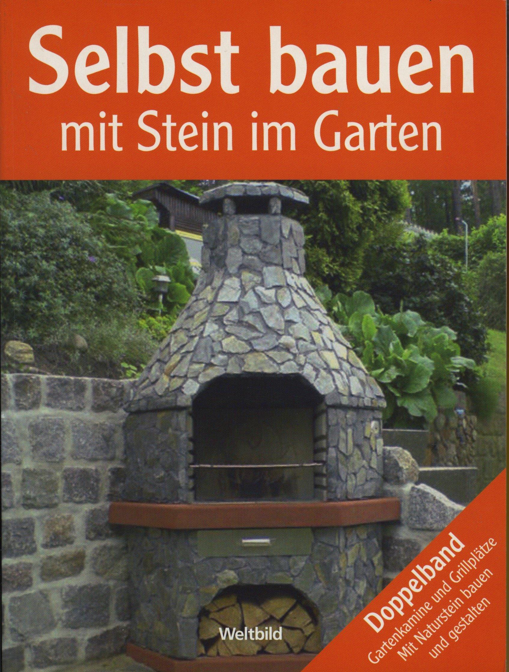 Selbst bauen mit Stein im Garten Doppelband Gartenkamine und ...