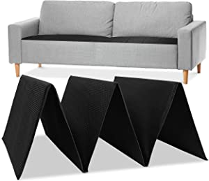 Meliusly Sofa Cushion Support Board (17x79'') - Strong Couch Supports for Sagging Cushions - Improve Firmness of Your Saggy Furniture Seat, Under Couch Cushion Support (Adjustable Sofa Insert)