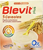 Blevit Plus 5 Cereales para bebé - 2 de 300 gr. (Total 600 gr.)