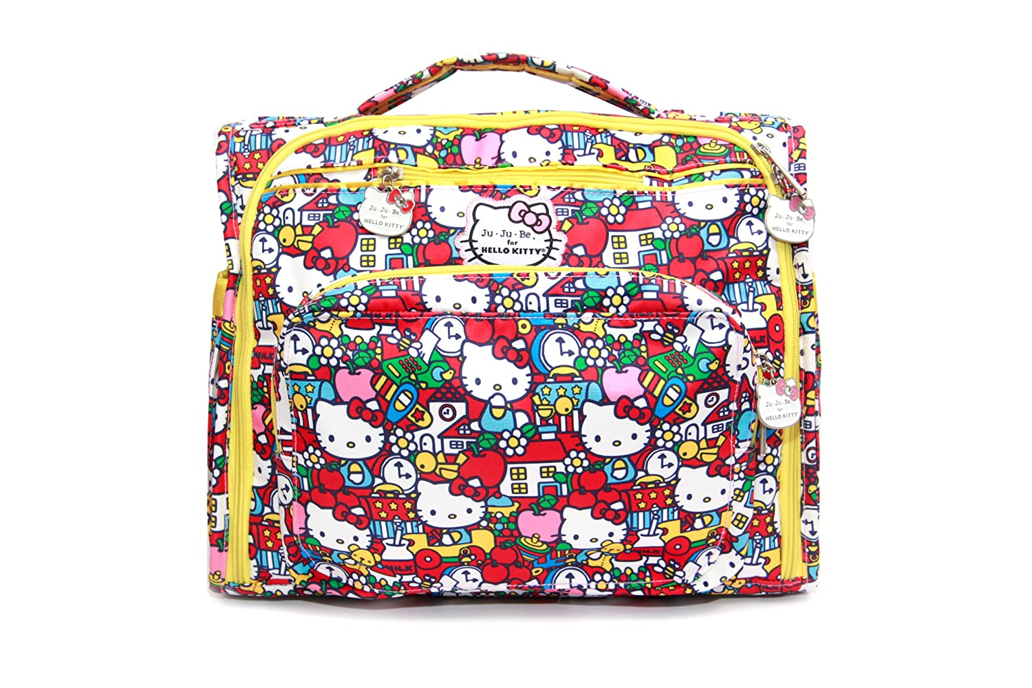 Hello Kitty Baby 7 Pocket Diaper Bag Tote with Changing Pad