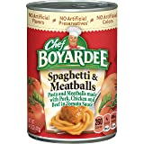 Chef Boyardee Spaghetti & Meatballs In Tomato Sauce, 14.5 oz
