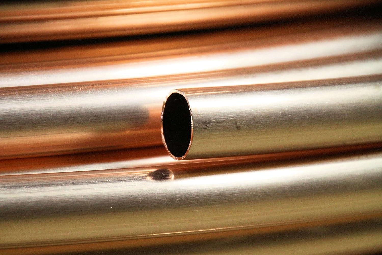 copper tube 10m Kupferrohr WEICH im RING 12/×1 mm als 10m DIN EN1057