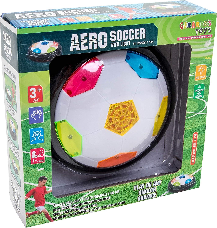 GERARDO`S Balón de Fútbol Deslizante Con Luz. Balón De Fútbol ...