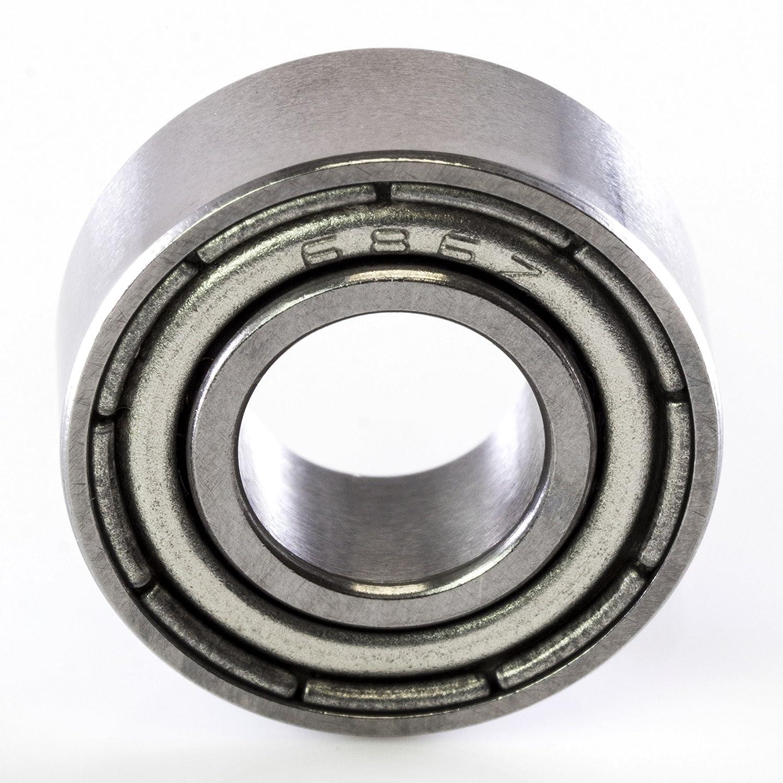 686ZZ 686 ZZ 6 x 13 x 5 Double Sealed Precision Ball Bearing CNC Slide Bushing Maker Girl USA