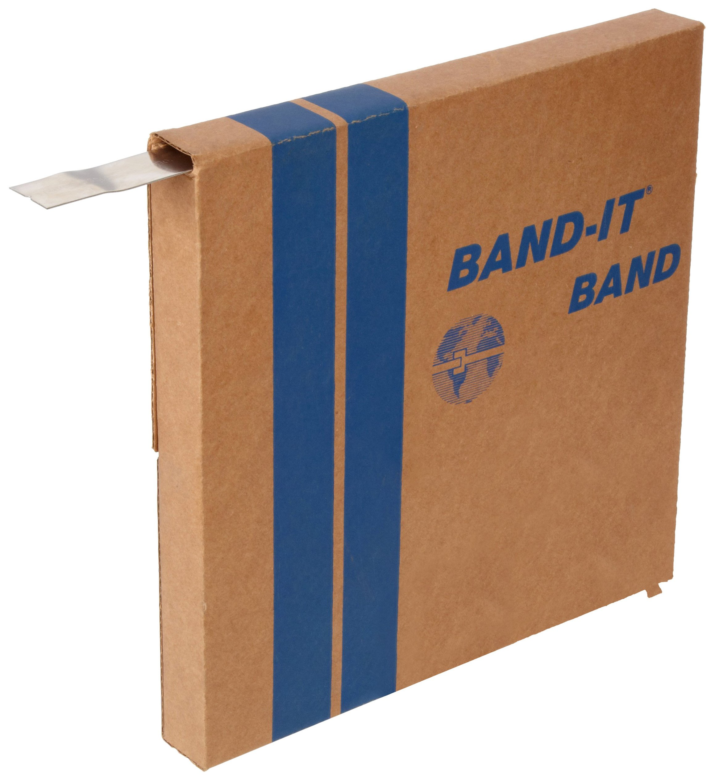 BAND-IT G43199 201 Stainless Steel Giant Band, 1'' Width X 0.044'' Thick, 100 Feet Roll by Band-It