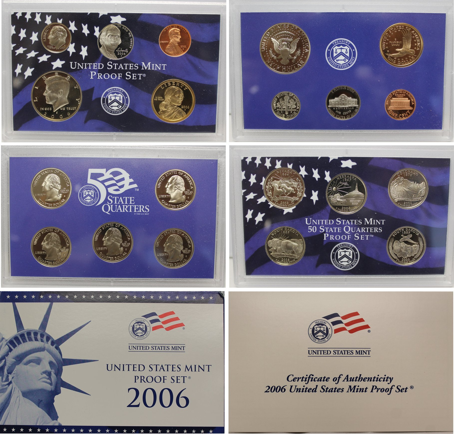 2006 S US Proof Set Superb Gem Uncirculated